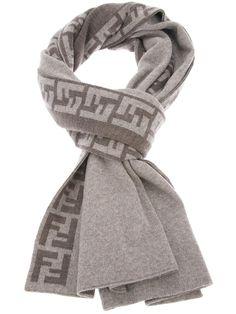 Fendi monogram scarf   mens scarf   menswear   mens clothes   mens style   mens fashion   wantering http://www.wantering.com/mens-clothing-item/monogram-scarf/adpN5/