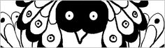 The bird with big eyes. Print this an put it in front of your baby
