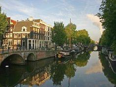 Luxus Hausboot im Zentrum von Amsterdam (Brouwersgracht). Platz für bis zu 9 Personen. Objekt-Nr. 434722
