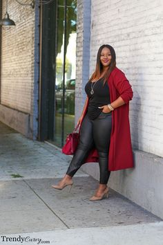 Cranberry | Plus Size Fashion | TrendyCurvy