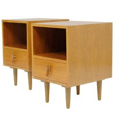 Walnut Nightstands for Glenn of California,