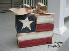 I could so do this! We have all of the supplies! 4th of July 4th-of-july craft UPDATE: the link doesn't take you to anything about this! by taren madsen