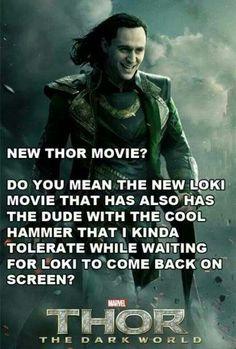Loki ~ New Thor Movie?