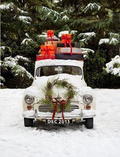 Vintage Christmas #Christmas @thedailybasics ♥♥♥