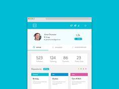 Stockroom Profile Page by Soumya Ranjan Bishi