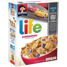 Life Cinnamon Cereal, 18 oz