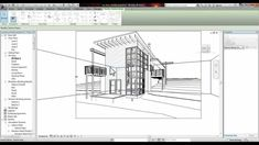 Revit tutorial - section perspective