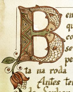 Psalm 1:1-3 by Veronika Filippova, via Behance