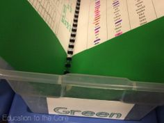 Education to the Core: Bright Ideas! Organizing and Tracking Your Data with Small Groups K-2