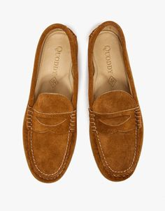 cool Quoddy Toast Penny Loafer,