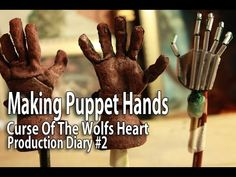 Stop Motion Animation - Making Puppet Hands - YouTube