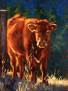 cheri christensen does awesome lighting in her paintings