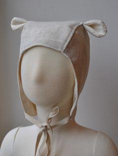 Baby Aviator hat with animal ears