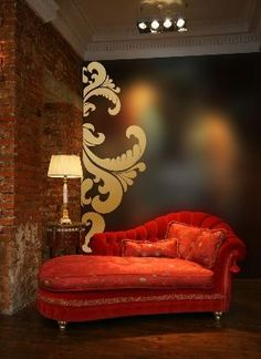 im about to do this on a desk and chair in our bedroom, but this wall is great!