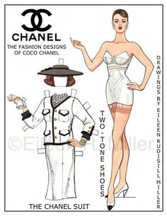 Chanel Paper Doll