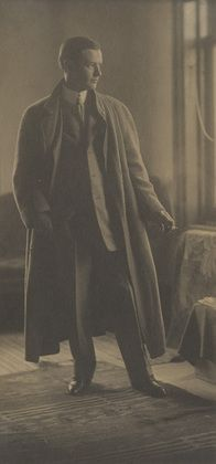 Gertrude Käsebier. Portrait of John Sloan. c. 1907