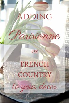Adding French or Parisian Home Decor - How to Add French Parisienne or French Country Style to Your Decor – A Delightsome Life - Country Stil, French Country Bedrooms, French Country Farmhouse, French Country Style, Farmhouse Style, French Country Fabric, French Country Interiors, Country Bathrooms, Country Kitchens