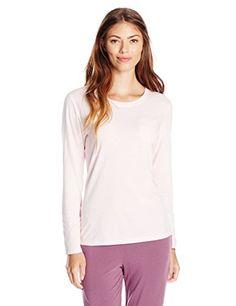 Jockey Women's Solid Long Sleeve Top - http://www.darrenblogs.com/2016/11/jockey-womens-solid-long-sleeve-top/