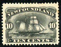 Newfoundland Pictorial stamps from Big Blue Blog  More about #stamps: http://sammler.com/stamps/ Mehr über #Briefmarken: http://sammler.com/bm