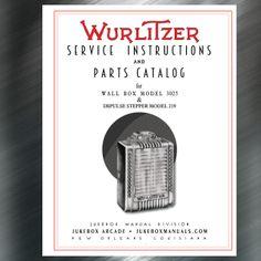 Wurlitzer 2700  Jukebox Service/& Parts Manual
