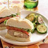 Fun Feta-Stuffed Turkey Burgers! Recipe via @SparkPeople