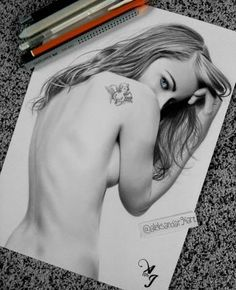 """""""Ordered Drawing :)"""" #Creative #Art in #sketching @Touchtalent"""