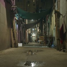 HK back alley by alexander reneby, via Flickr