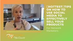 If you're a network marketer and you want to learn how to increase sales of a product, then this video is for you.   In it, I go over tips for strategic prospecting and mistakes that you should be careful to avoid.