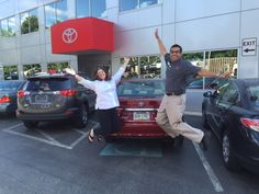 Ardmore Toyota congratulates Alyson on your new 2015 Toyota Camry #hybrid! We hope you enjoy every moment in your new #BoldNewCamry in Ruby Flare Pearl! Thank you from Q and everyone at Ardmore Toyota! #Happy #JumpForJoy!