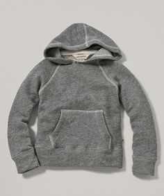 Another great find on #zulily! Gray Organic Terry Hoodie - Infant & Toddler #zulilyfinds