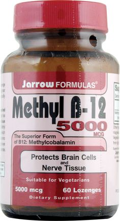 Jarrow Formulas Methyl B-12 suitable for vegans