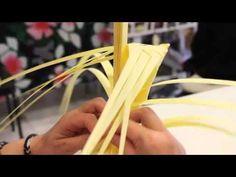 Cómo hacer palmas de Domingo de Ramos 1 - YouTube