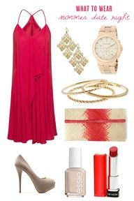 What to wear for a summer date night | The Sweetest Occasion