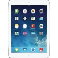 Apple Ipad Air MF529LL/A 32GB Wi-Fi + AT&T White With Silver (Grade B)