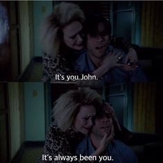 John and Sally. American Horror Story Hotel Season 5 Episode 8. I actually kind of enjoyed this pairing, but she was better off without him. John was such an annoying asshole XD