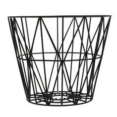 ferm LIVING Tapa de madera para cestas de alambre - Varios tamaños