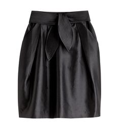 black skirt! Stella McCartney para C