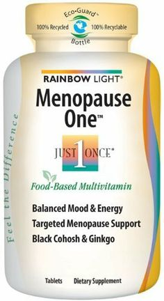 rainbow light just once menopause one multivitamin tablets 90 tablets. Black Bedroom Furniture Sets. Home Design Ideas