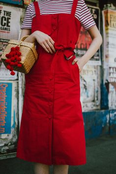 How to layer dresses for spring, red dress, zara tshirt, gucci sneakers, straw bag, micro sunglasses, andreea birsan, couturezilla, cute outfits 2018, midi trench inspired cotton dress, midi dress in red, white shirt and floral midi dress, how to layer dresses like a pro, best dresses for spring 2018, floral print dress, striped t-shirt, tee, organic cotton tshirt, zara tshirts, asos micro sunglasses, red cat eye sunglasses, white oval sunglasses, peonies, straw bags, pom pom bags, straw…