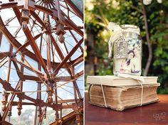 Vintage books Moi Decor, taken by Laura Jane Photography at Shepstone Gardens