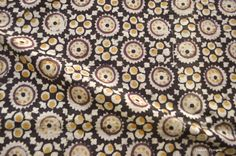 Check out this item in my Etsy shop https://www.etsy.com/uk/listing/248061217/circle-design-kalamkari-fabric-indian