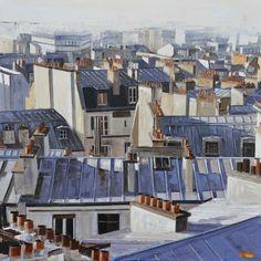"Kowalczuk, ""Toits de Paris"""