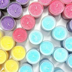 Rainbow made of Candles! 😄💗🌈 💚VEGAN Candles & Wax Melts 🐰 CRUELTY Free 💛NO Paraffin, NO Phthalates 💋info@owncandles.com; www.owncandles.co.uk #owncandles #scentedcandles #ilovecandles #socute #fabulouslytrendy #summertime #summer #fragrance #summerfragrance #homefragrance #fragrances #fragrancelover #candle #candles #summervibes #musthaves #musthave #cutestuff #makeup #cutegift #rainbow #rainbowcolors #rainbowcandle #rainbowcandles #vegancandles #plantbased Pastel Home Decor, Vegan Candles, Pastel House, Candle Wax, Wax Melts, Scented Candles, Cute Gifts, Rainbow Colors, Fragrances