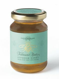 Loved the honey you and the bees made.Miss you and miss your cinnamon creamed honey Honey Jar Labels, Honey Label, Honey Uses, Honey Bottles, Honey Packaging, Pretty Packaging, Honey Logo, Honey Brand, Hives And Honey