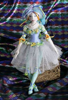 Jan Horrox Cloth Doll and Textile Supplies — Tallulah Pattern