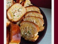 Baguette farcie au poulet et aux herbes, Recette par Nj - Ptitchef