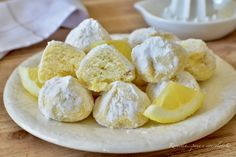 BISCOTTI di Riso al Limone Ricetta DOLCI veloci Gluten Free Biscuits, Biscotti Cookies, Cooking Recipes, Healthy Recipes, Pasta Salad Recipes, Something Sweet, Love Food, Camembert Cheese, Food And Drink