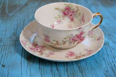 Haviland and Company Limoges France Porcelain Pink by oohlalamaui/ I love Limoges!