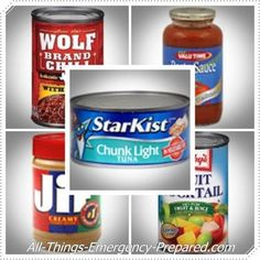 Best Canned Food Storage Choices