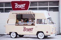 Bruno der Bus VW T2 food truck
